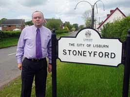 Paul Butler at Stoneyford