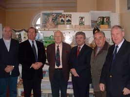Sinn Féin Councillor Kieran McCarthy, Michael Martin, Chamber of Commerce President Joe Mac Coitir, Arthur Morgan TD, Martin Hallinan and John Sweeney