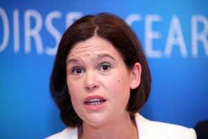 Dublin MEP Mary Lou McDonald