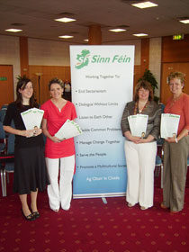 Martina at launch of Sinn Féin's Unionist Outreach programme