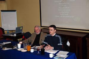 Martin Ferris  and David Cullinane