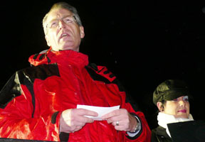 Gerry Kelly pays tribute to 'The Two Brendans'
