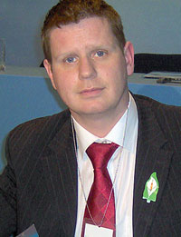 Sinn Féin Louth County Councillor Tomás Sharkey