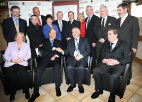 Tenth anniversary of good friday agreement an phoblacht pictured here are some of those involved in the negotiations that led to the good friday agreement before the us ireland symposium commemorating the platinumwayz