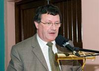 Michael Kenny delivers the 2008 Annual Fergal O'Hanlon Memorial Lecture