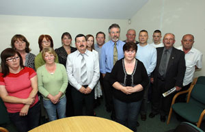 CALL: The families of the Ballymurphy victims and Gerry Adams want Irish Government action
