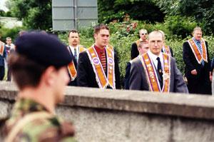 Portadown Orange march