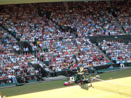 WIMBLEDON: Booing 'Johnny Foreigner'