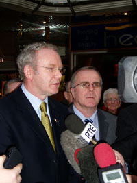 McGUINNESS & McCARTNEY: We want this to be a truly national event