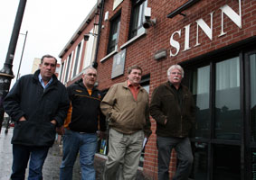 CEARTAS:  Jim McCann, Máirtín Óg Meehan, Joe 'Doc' Doherty and Charlie Mawhinney
