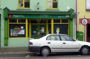 KEY: Sinn Féin is opposing the closure of post offices, an important part of community infrastructure