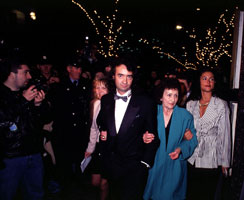 FILM: Sarah Conlon with her son Gerry at the premier of In the Name of the Father in Dublin in 1993. The film exposed the callous treatment of Giueseppe Conlon in a British prison