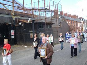 MILITARISED BLIGHT: Short Strand residents are demanding the removal of the Mountpottinger barracks