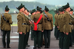BLOODY RECORD: The RIR/UDR is closely associated with loyalist death squads
