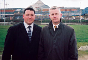Mark Daly and Seán Crowe