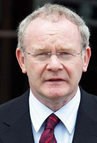 PROPOSALS: Martin McGuinness