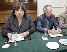 DEMISE: Mary Harney at a meeting of the PD national executive on Tuesday