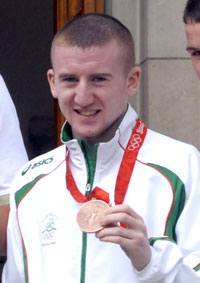 ABUSED: Olympic hero Paddy Barnes
