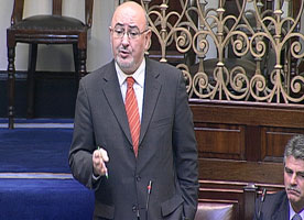 Sinn Féin Dáil leader Caoimhghín Ó Caoláin called on the Government to put before the Dáil and the public their real programme