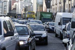 CONGESTION charges: proposal contained in IIEA report