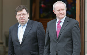 Cowen and McGuinness: There is an onus on the Taoiseach to become involved