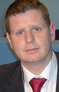 Louth Sinn Féin Councillor and the EU candidate for Ireland East, Tomás Sharkey
