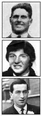 Seán (Jack) McNeela, Michael Gaughan and Frank Stagg