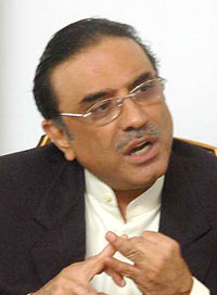 Pakistan People's Party leader, President Zardari