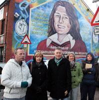 Brian Morgan, Eibhlin Glenholmes, Seamy Kelly, Ann Marie Adams and Louise Beck