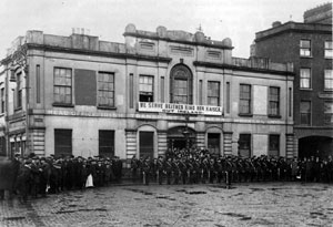 IRISH CITIZEN ARMY: From Liberty Hall Connolly steered a revolutionary course for the Irish labour movement