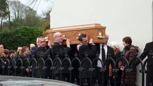 LAID TO REST: The effects of his part in the heroic Hunger Strike were to remain with Seán forever