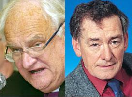 Robin Eames and Denis Bradley