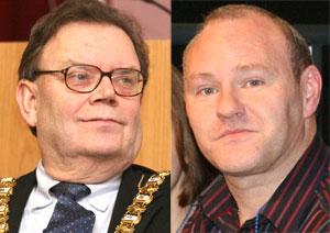 Tom Hartley and Paul Maskey