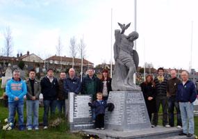 REFURBISHMENT: Derry Republican Graves Association and Magee Sinn Féin Society at Derry City Cemetery