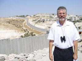 Gerry Adams in Palestine in 2006