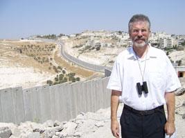 Gerry Adams in Palestine in 2006