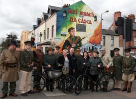 A Sinn Féin Flying Column in west Belfast gets ready for Easter