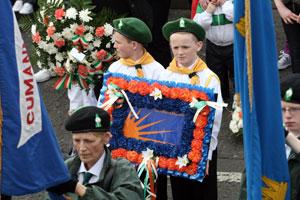 BELFAST: Ardoyne, 100th anniversary of Na Fianna hÉireann is commemorated