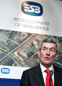LIGHTING THE WAY: ESB Chief Executive Pádraig McManus announces plan for 3,700 new jobs