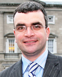 26-County Junior Minister for Labour Affairs Dara Calleary
