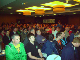 DERRY: Town Hall meeting in Tower Hotel
