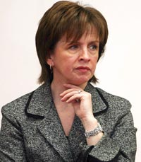 DUP'S DIANE DODDS: Down and out