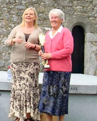 Olive Sloan and Annie Cahill at the commemoration