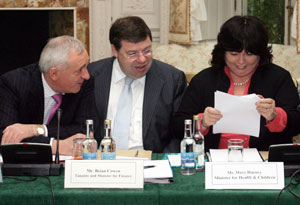 HONOURS LIST: Those who drove the economy into recession – Bertie Ahern, Brian Cowen and Mary Harney
