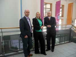 TALLAGHT: Not about bums on seats. Cathal King, Sinead Cooke and Seán Crowe