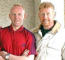 Pearse McCauley and Kevin Walsh