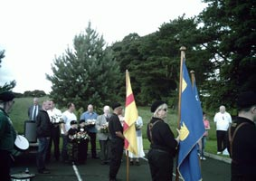 REMEMBERED: Wreaths being laid at the Volunteer Kevin Lynch commemoration