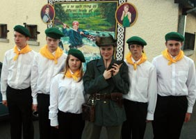 CAST: Some of the young Ballymurphy actors