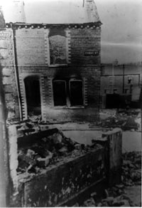 Bombay Street was burned to the ground