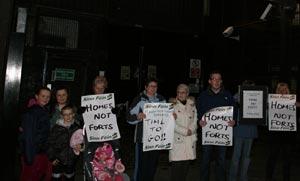 PROTEST: Mountpottinger PSNI barracks surplus to requirements